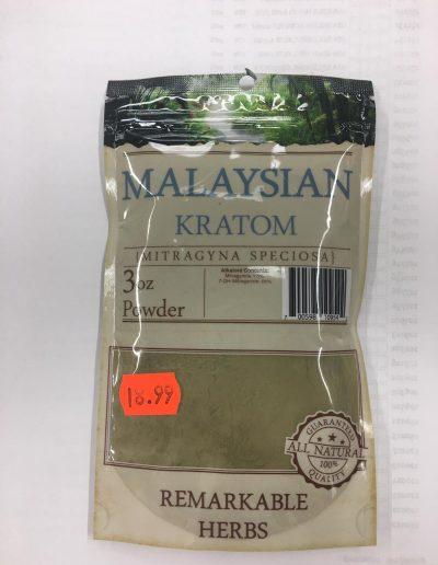 Malaysian Kratom (Mitragyna Speciosa) 3 oz