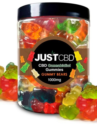 Delicious bear-shaped gummies available online